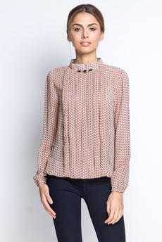 Шифоновая блузка со складками Marimay