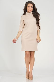 Платье бежевого цвета с рукавом Liora