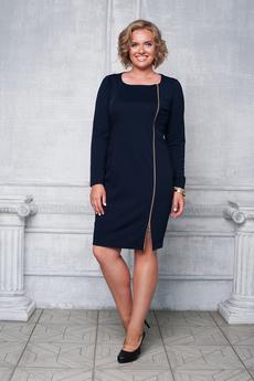 Платье с декоративной молнией Angela Ricci