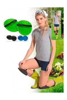 Наколенники для садовых работ зеленые Bradex